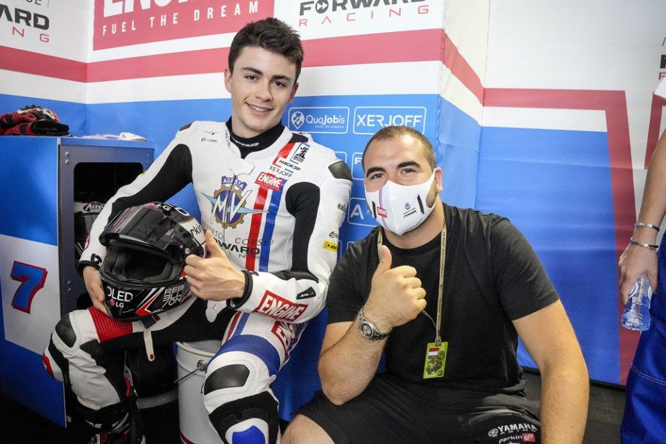 Moto2: Ad Aragon Manuel Gonzalez sostituirà Baldassarri sulla MV Agusta