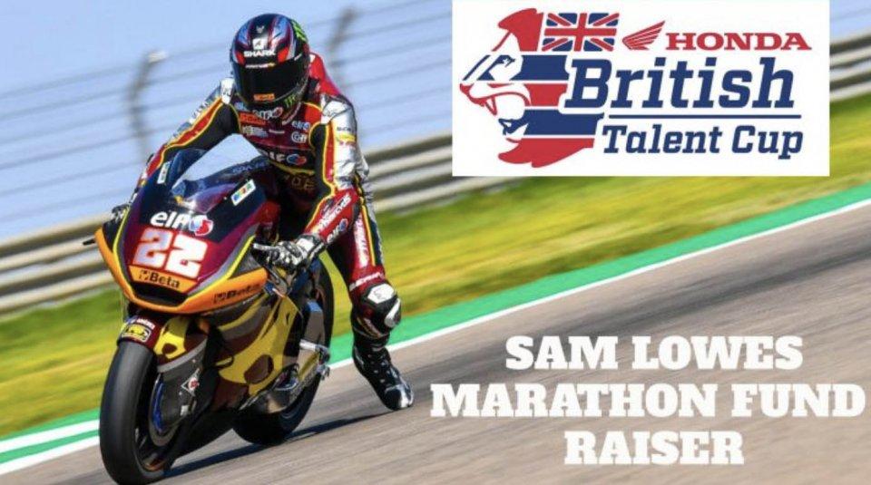 Moto2: Sam Lowes correrà una maratona per raccogliere fondi per la british talent cup!