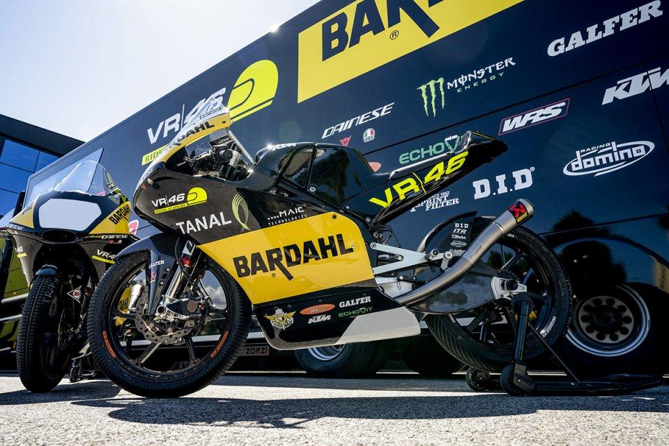 Moto3: Elia Bartolini e Matteo Bertelle wildcard a Misano con il team Bardahl VR46