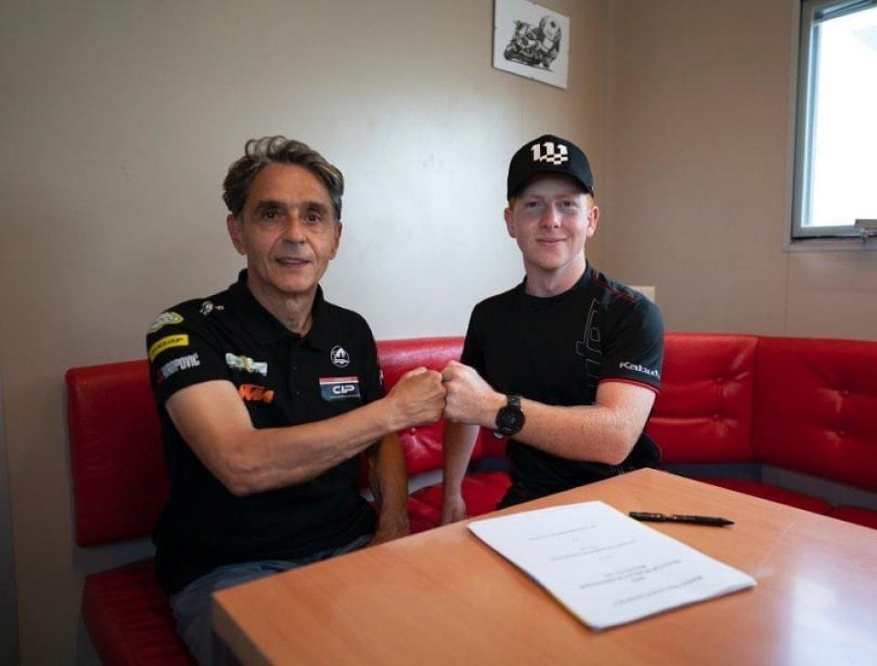 Moto3: Joel Kelso debutterà nel Mondiale Moto3 nel 2022 con il team CIP