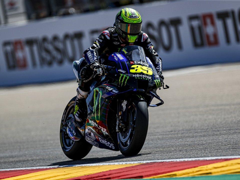 """MotoGP: Crutchlow: """"Felice del mio giro, ma il mio lavoro è rendere Fabio più veloce"""""""