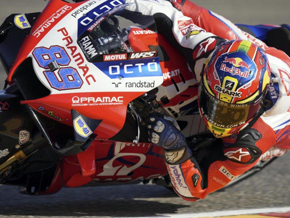 """MotoGP: Martin: """"Ho avuto problemi alla gamba sinistra, faticavo a scalare le marce"""""""