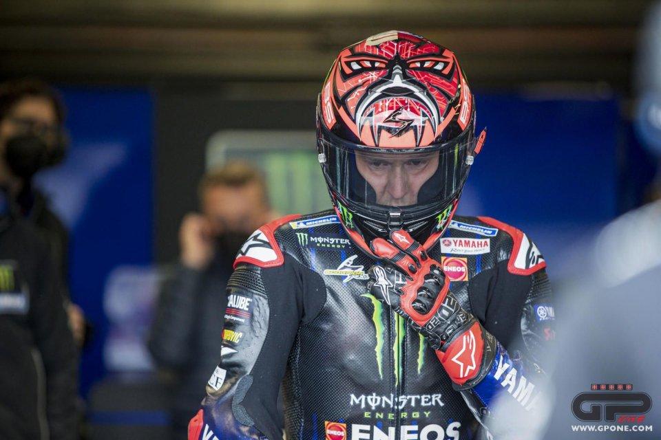 """MotoGP: VIDEO Quartararo: """"Mi è entrata una ape nel collo! Poi ho trovato traffico"""""""