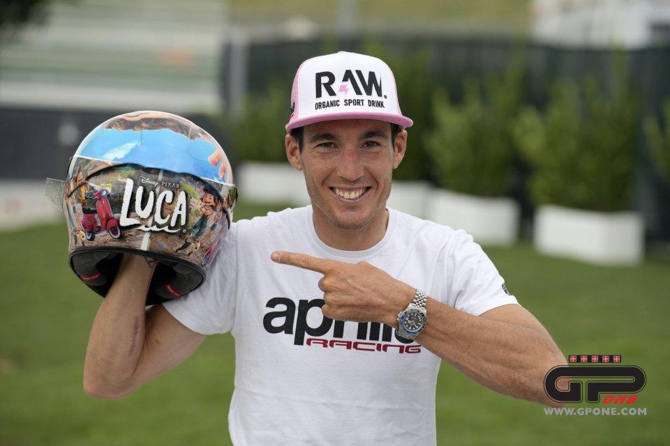 MotoGP: Aleix Espargaro tifa per...Luca Paguro, l'ultimo film della Pixar