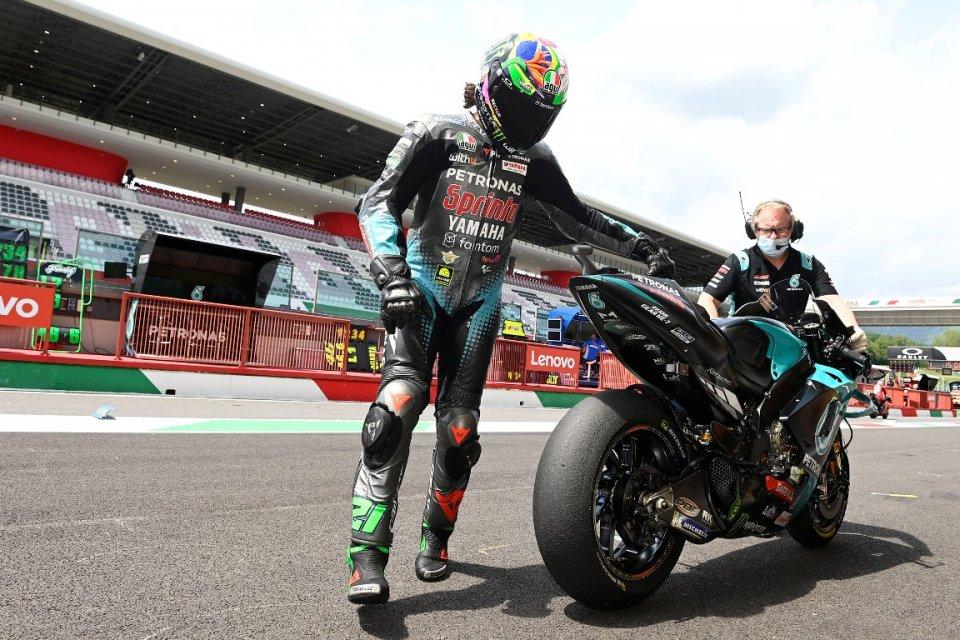 MotoGP: Misano: Quartararo ritrova nel box lo spauracchio Morbidelli