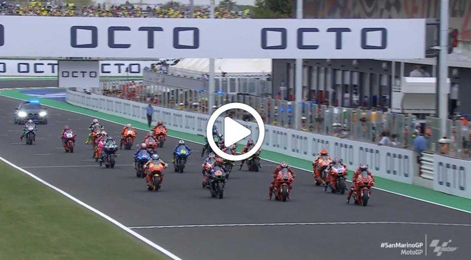 MotoGP: Gli highlights del GP di San Marino e della Riviera di Rimini