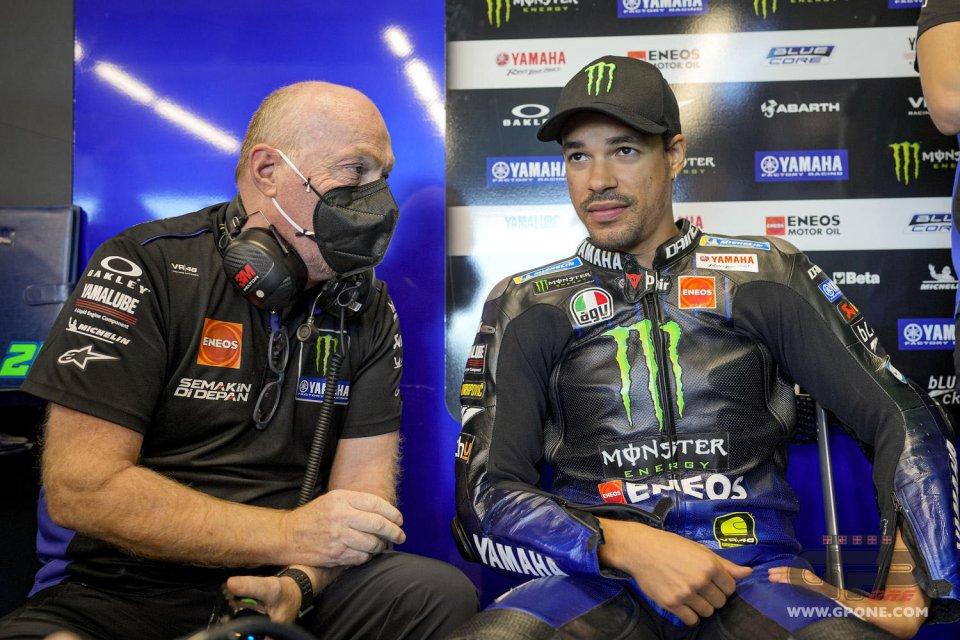 """MotoGP: Morbidelli: """"Ho già provato la M1 2022 a Misano, pochi giri ma di qualità"""""""