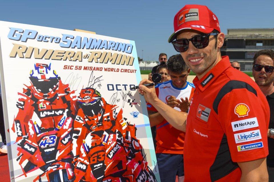 """MotoGP: Pirro: """"Dovizioso con Petronas? Una scelta importante e da pazzi"""""""