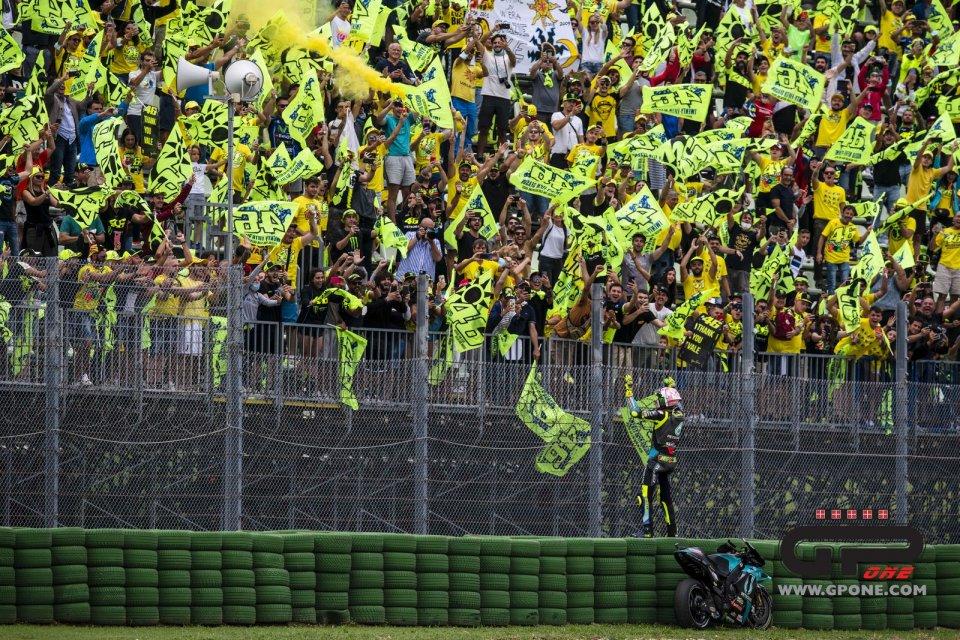 MotoGP: VIDEO A Misano in 60.000 tifano Rossi ed il ritorno alla normalità