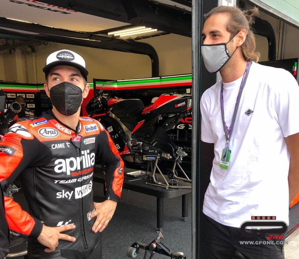 """MotoGP: 'Gimbo' Tamberi: """"sono un motociclista, ma non guido da anni"""""""