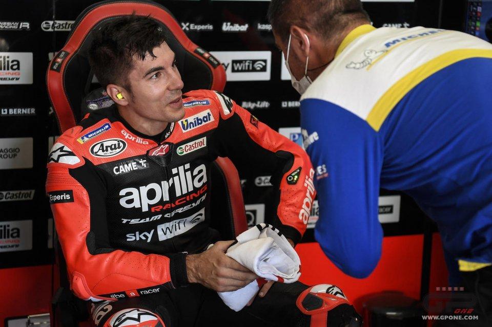 """MotoGP: Vinales: """"L'Aprilia va forte, sono io che devo adeguarmi e migliorare"""""""
