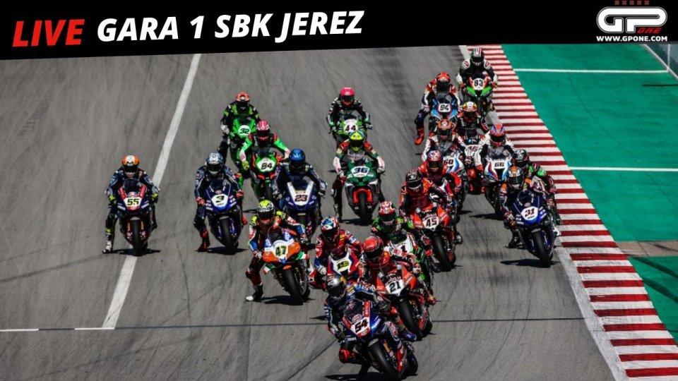 SBK: Cancellate tutte la gare della giornata a Jerez per l'incidente di Berta Vinales