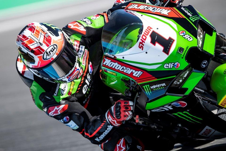 SBK: Rea fa il vuoto nella FP2 di Jerez, ma Toprak copre le carte