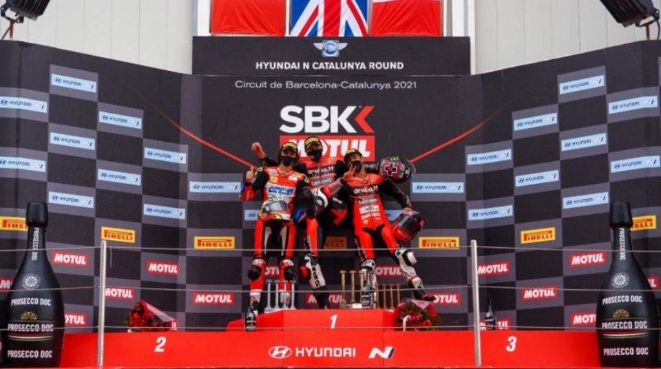 """SBK: Redding: """"Non potevo essere la terza Ducati, o vincevo o cadevo"""""""
