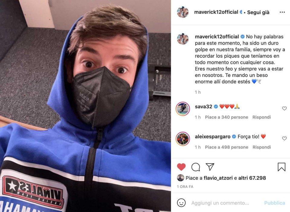 SBK: Maverick ricorda il cugino Dean Berta con un tweet