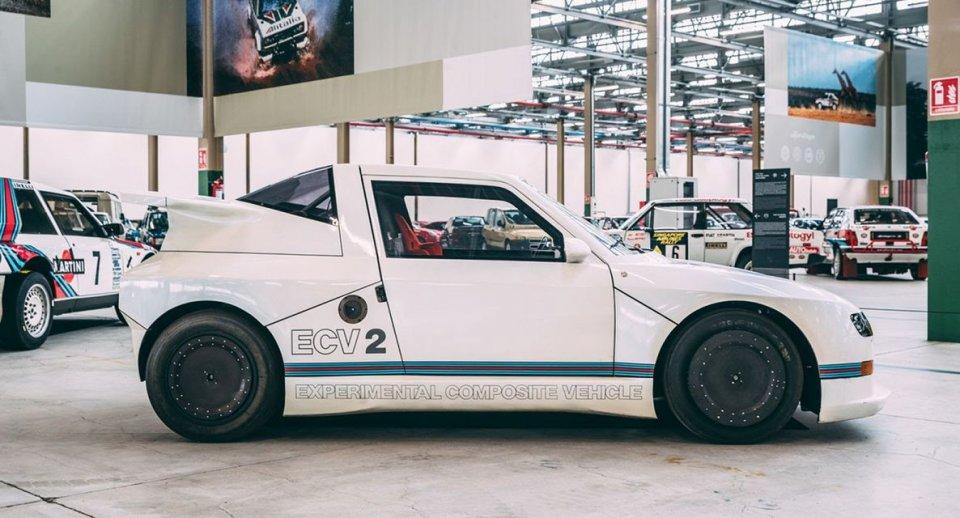 """Auto - News: Al """"Fuori Concorso 2021"""", ecco la Lancia ECV2, la Delta S4 """"evoluta"""""""