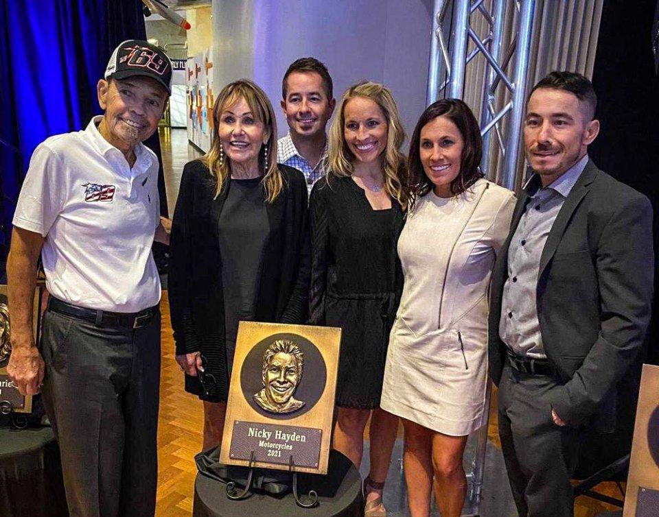 MotoGP: Nicky Hayden inducted in the Motorsport Hall of Fame of America