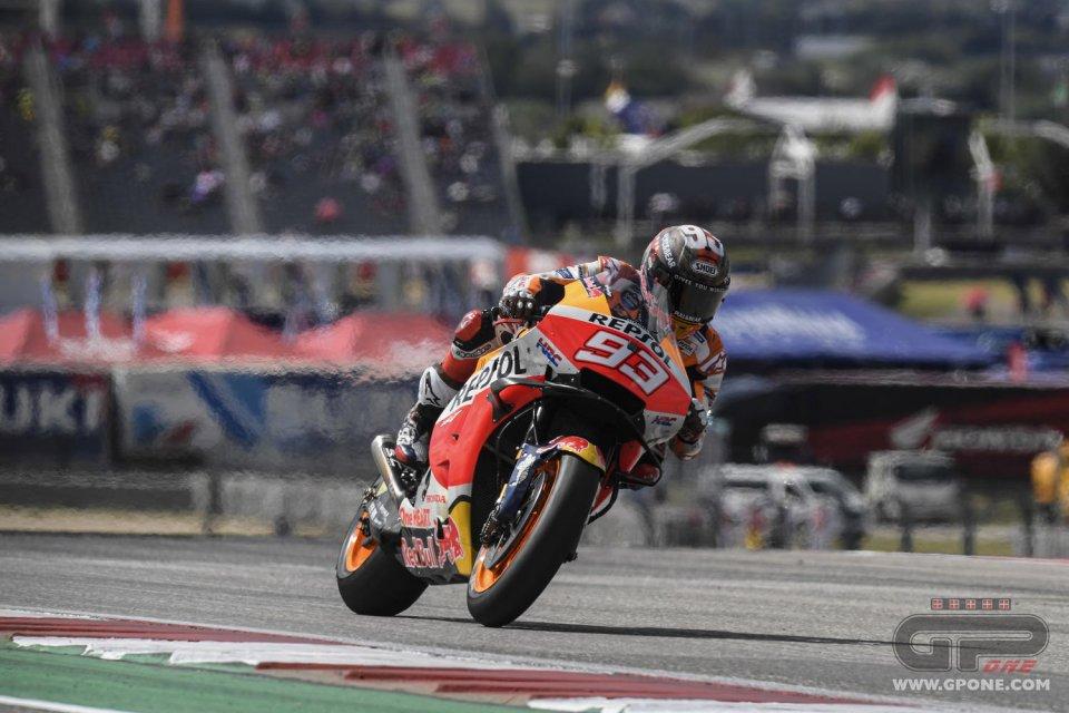 MotoGP: Marquez resta il miglior Cowboy ad Austin: vittoria su Quartararo e Bagnaia