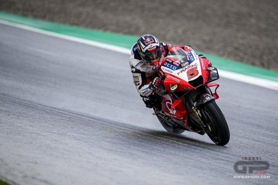 MotoGP: Zarco guida la carica Ducati in FP2 a Misano: 2° Bagnaia, 3° Miller