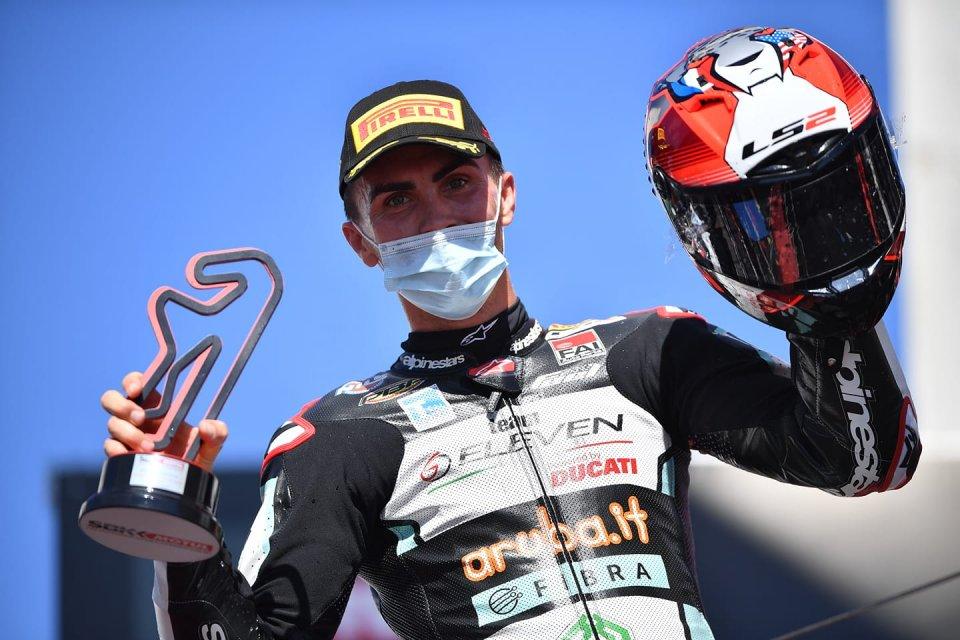 """SBK: Baz: """"Questa Ducati è incredibile, ma io sono qua in vacanza"""""""