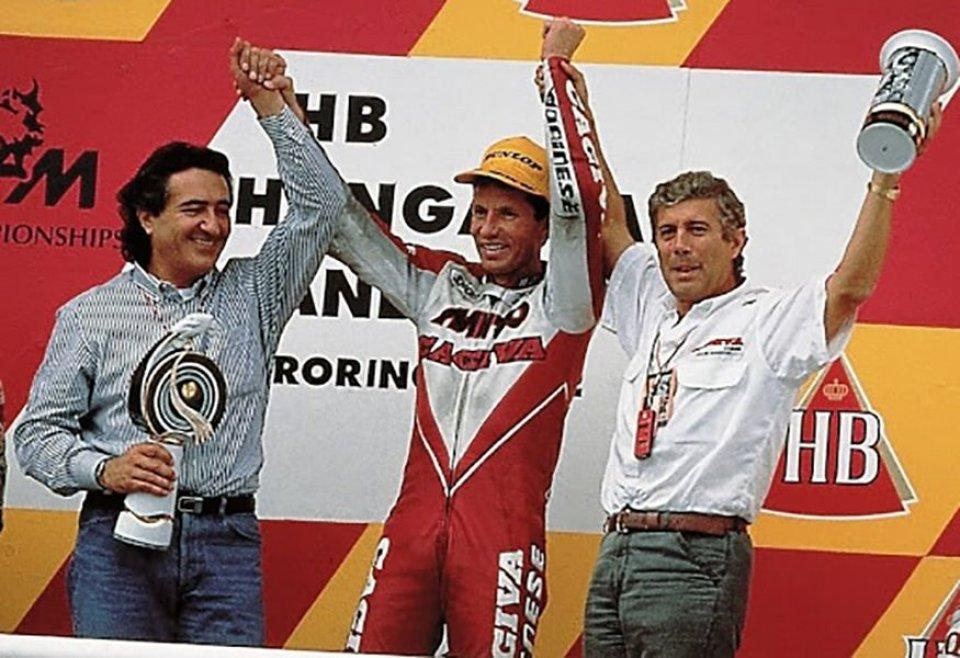 Agostini & Lawson: il passaggio in Honda e la disputa della pastasciutta