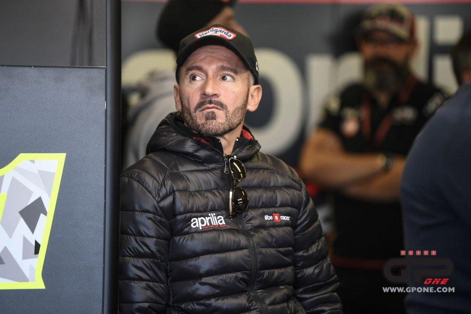 Max Biaggi Aprilia tester: today he would say no...