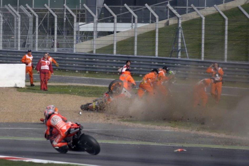 Marquez che rischio a Silverstone!