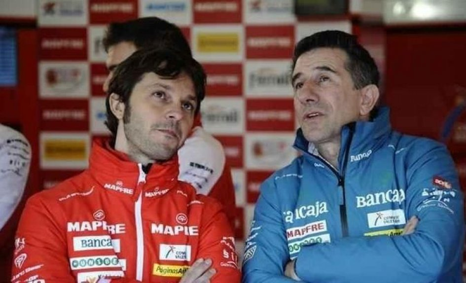 'Aspar' Martinez parla con la Honda