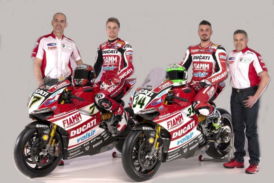 Ducati presenta il team SBK 2014