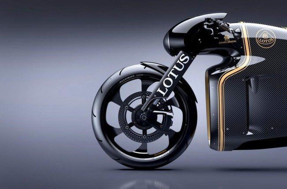 Lotus Motorcycles svela la C-01