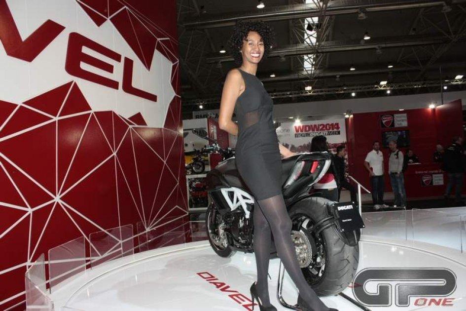 Ducati 'monstre' al Motodays 2014