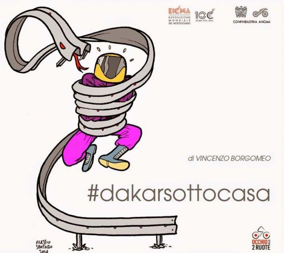 IL TWEET LIBRO La #Dakarsottocasa
