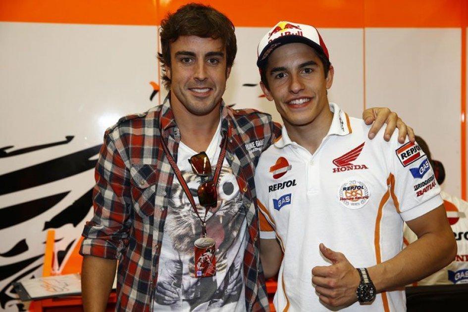 Alonso: la MotoGP è più difficile della F1