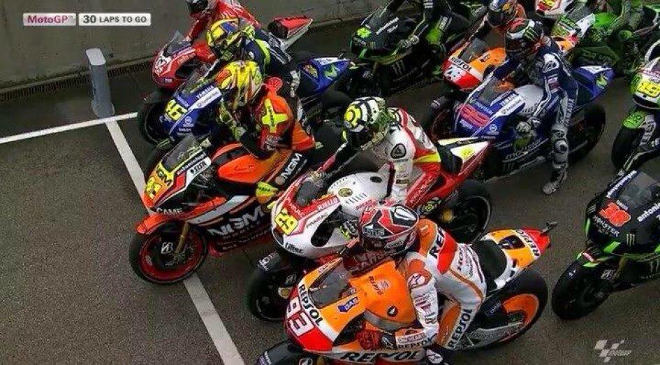 Helzapopping MotoGP al Sachsenring