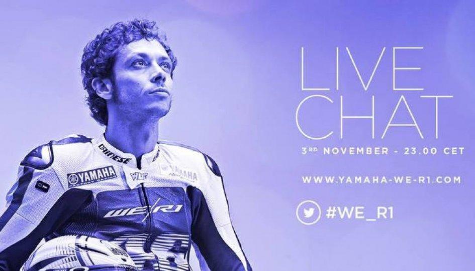 Con Rossi in live chat per parlare di R1