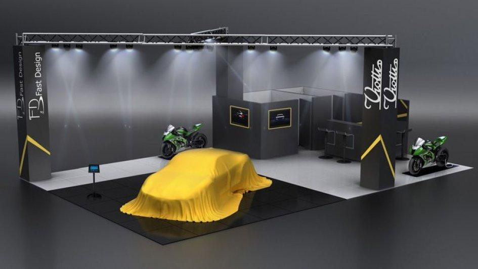 La Fast Design con Gresini al Motor Show