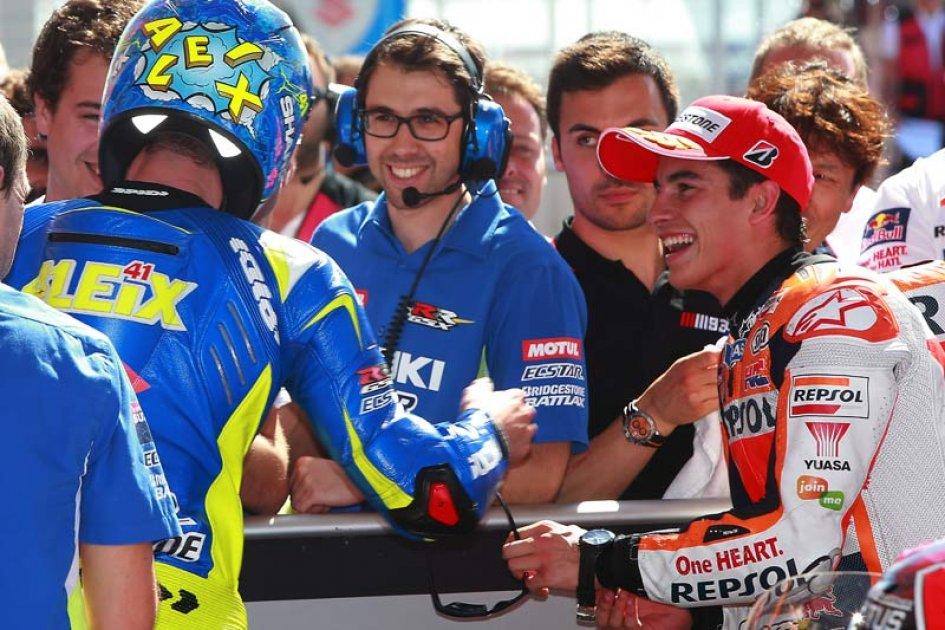 Marquez: i rivali sono Rossi e Lorenzo