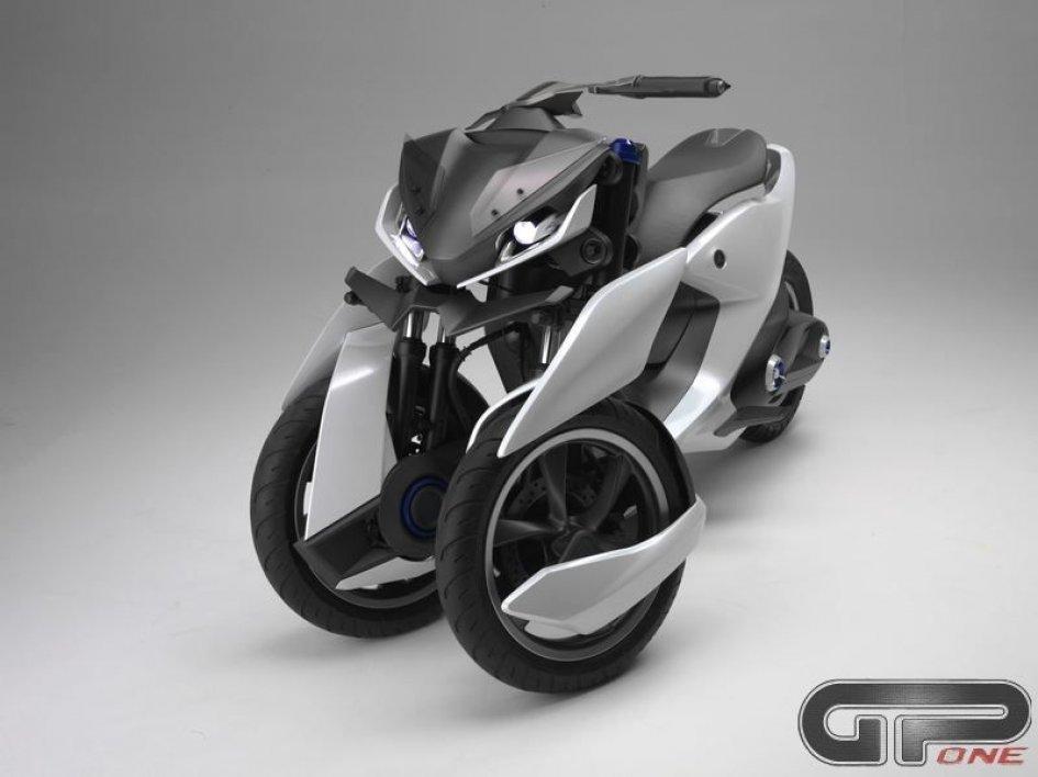 Ecco la terza GENerazione dei 3 ruote Yamaha