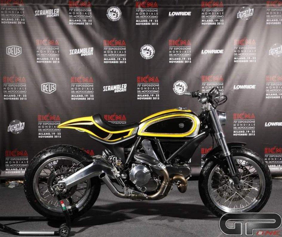 Eicma presenta lo Scrambler Radikal Chopper