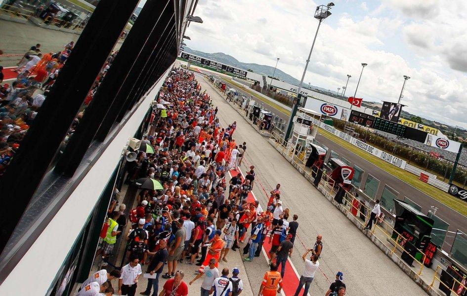 La Superbike a Misano fino al 2019