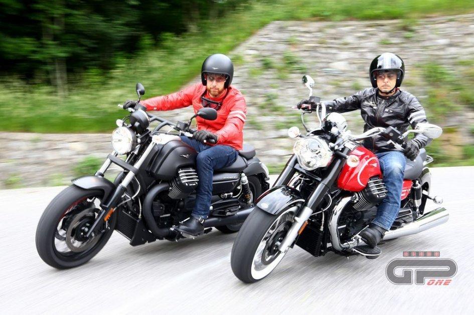Quelle Moto Guzzi sul lago di Como
