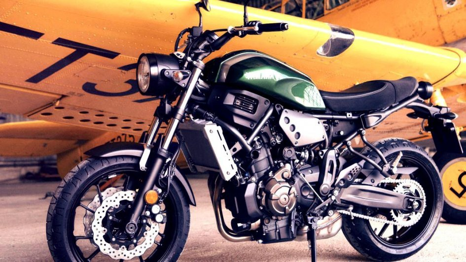 Yamaha: XSR700, special di serie