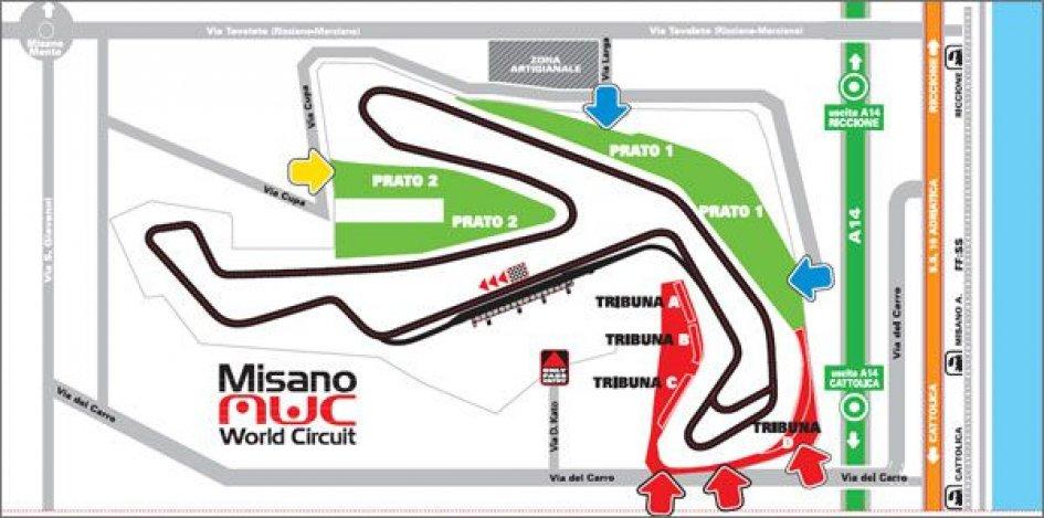 Test a Misano per Ducati, Honda e Suzuki