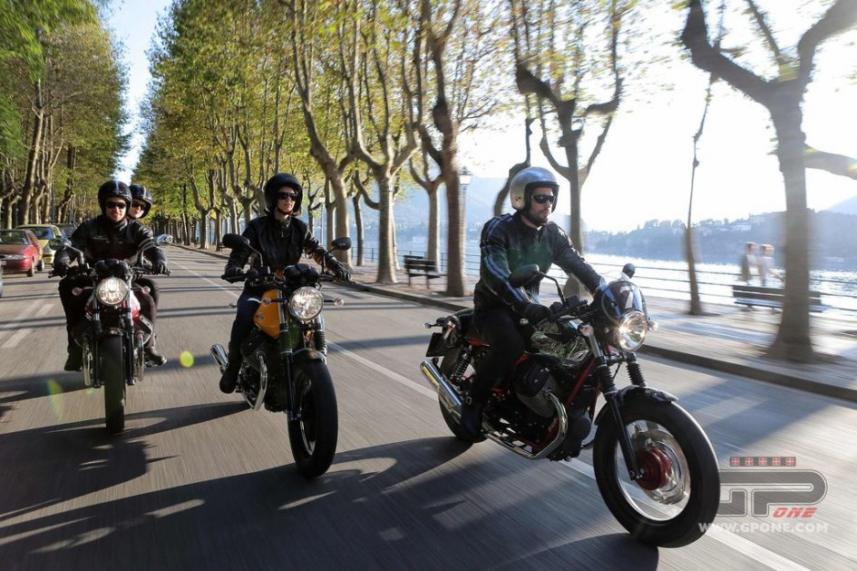 Moto Guzzi Open House 2015 a Mandello