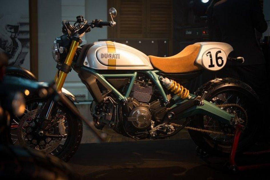 Lo Scrambler Ducati omaggia Paul Smart