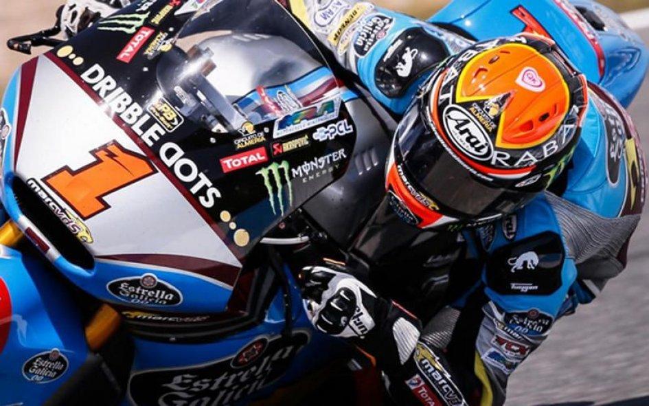 Aragon, Moto2: Rabat si conferma leader