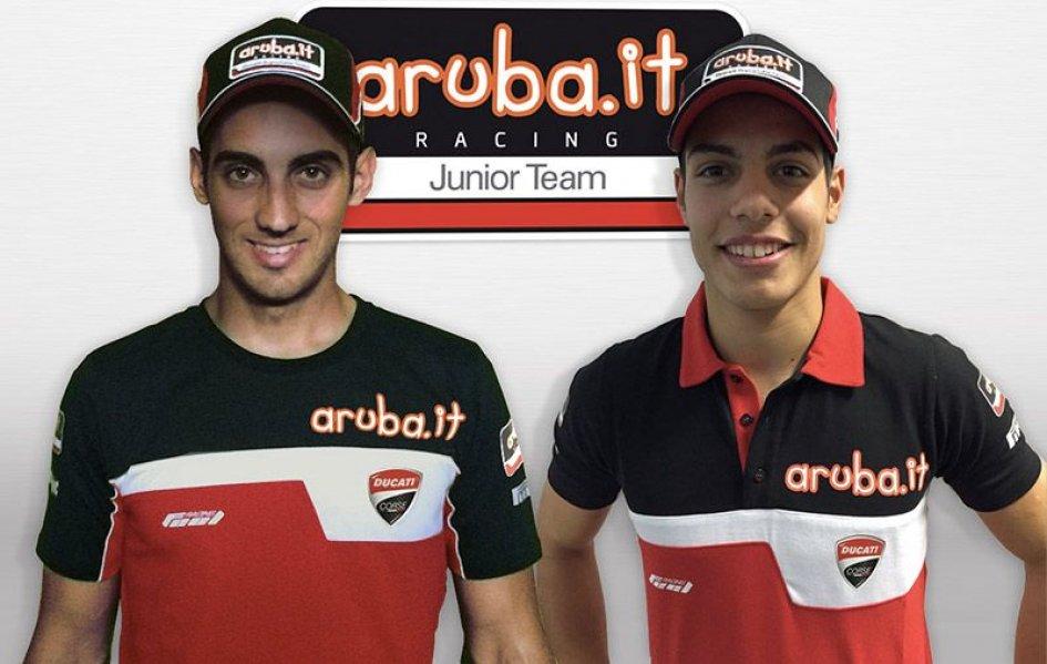 Il team Aruba raddoppia in Superstock