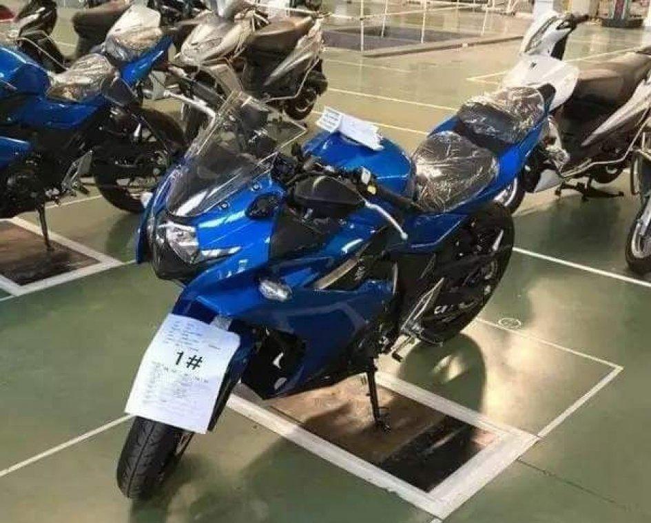 Una piccola GSX-R in arrivo da Suzuki?