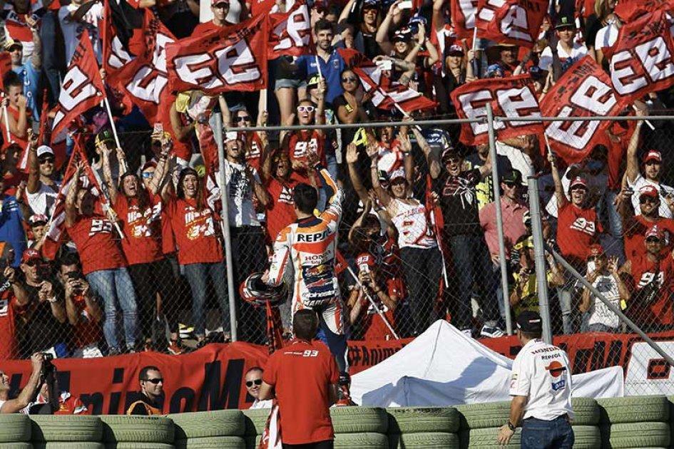 Marquez: i miei tifosi vengano al Mugello