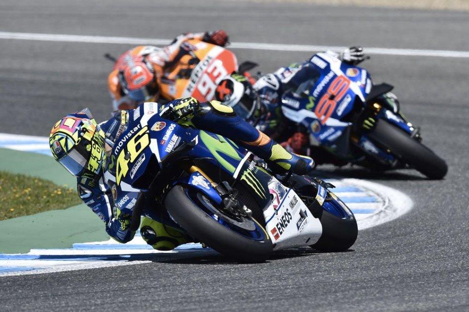 Marquez, Lorenzo e Rossi: una poltrona per tre